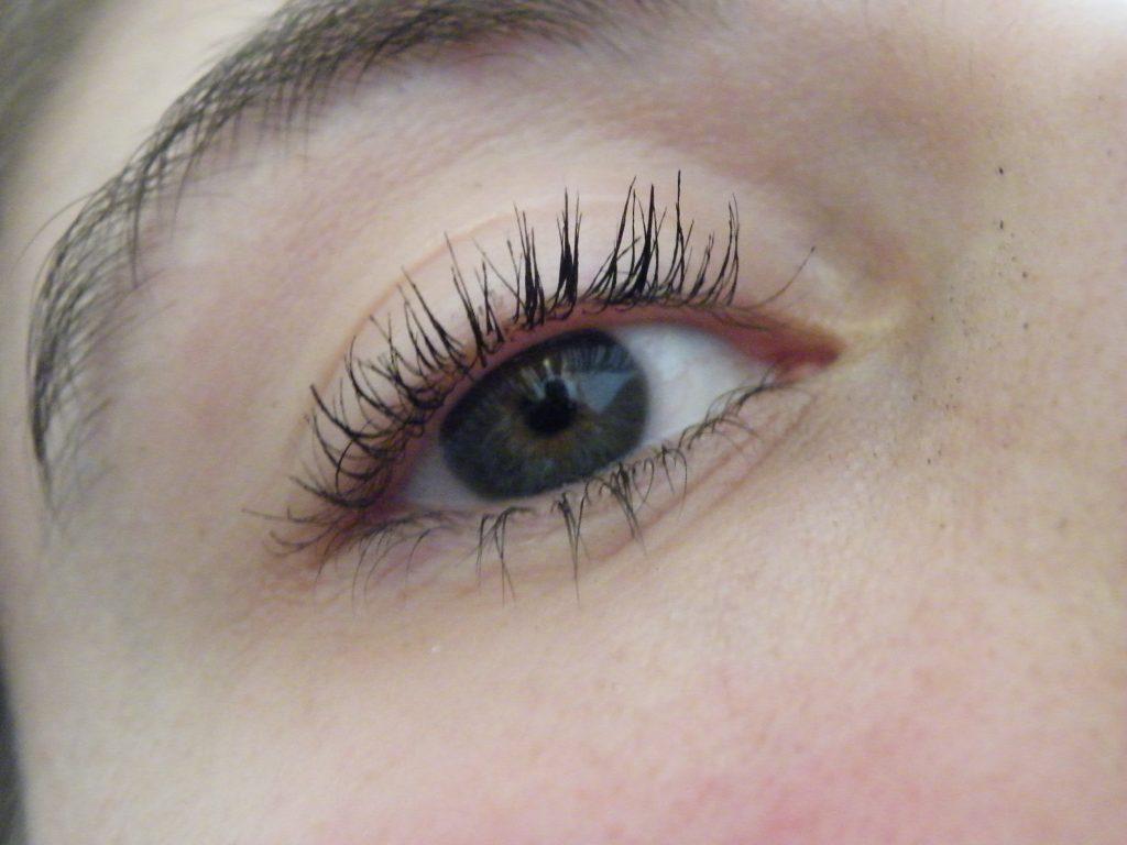 oog met mascara