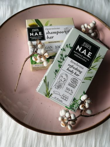 Review | N.A.E. shampoo bar & refreshing body bar