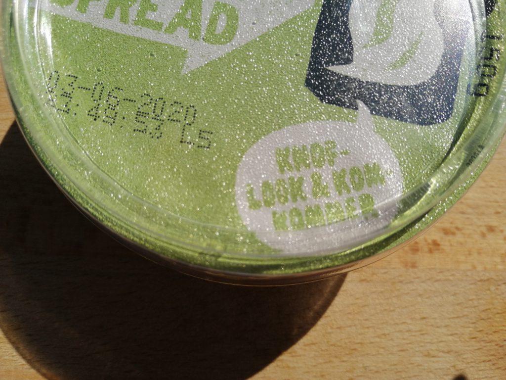 Oatly haverspread knoflook/komkommer
