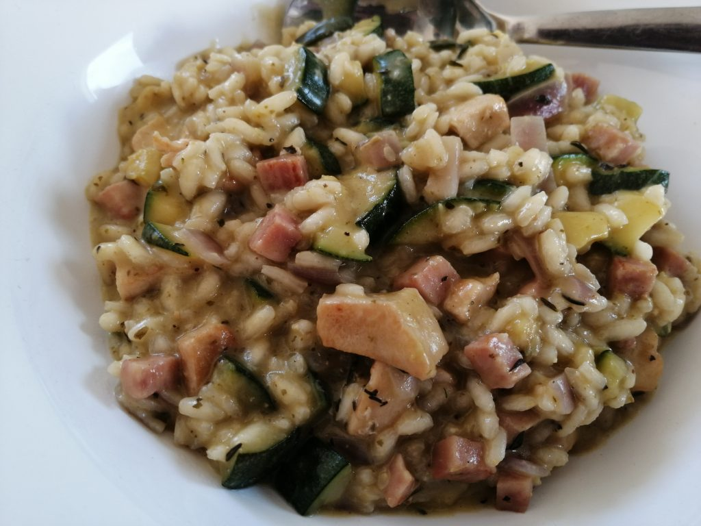 risotto in pestosaus