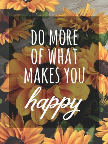 Happy List #4 Vrije tijd