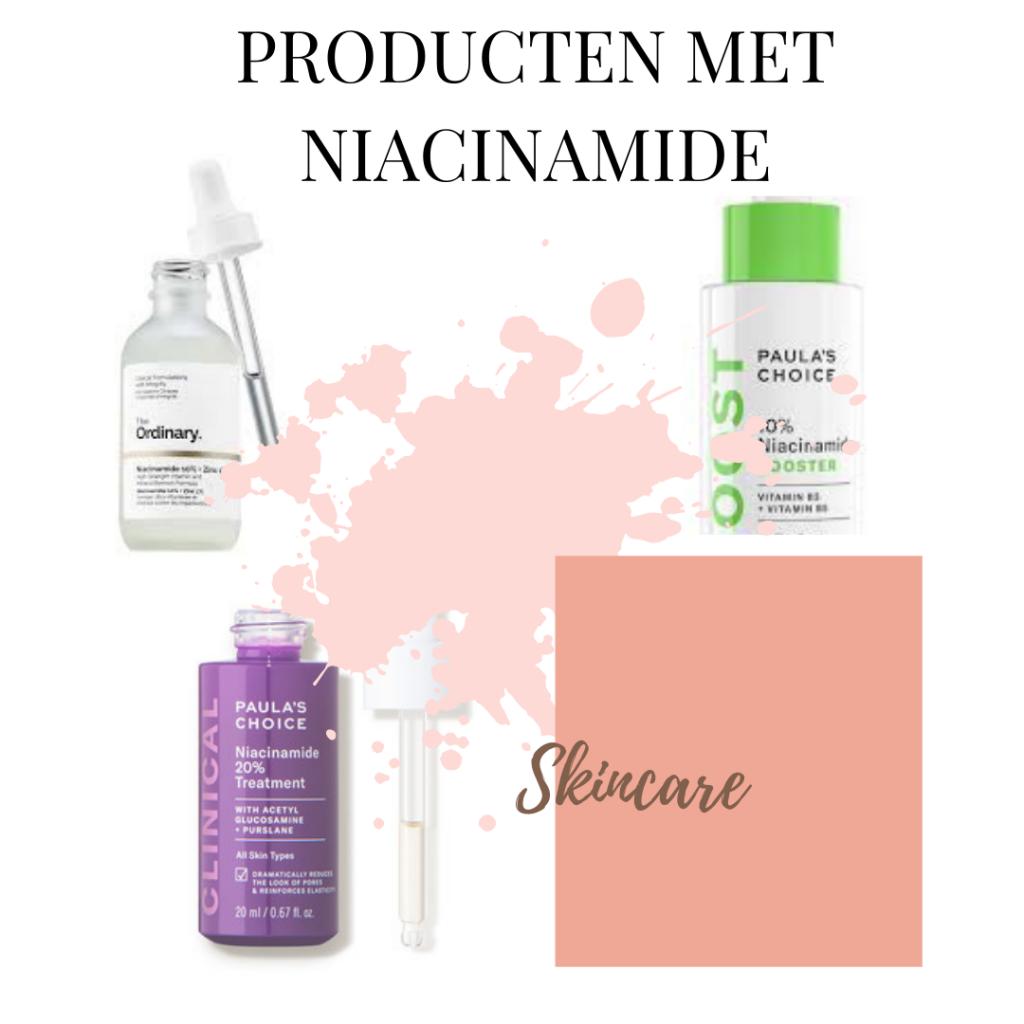 producten met niacinamide
